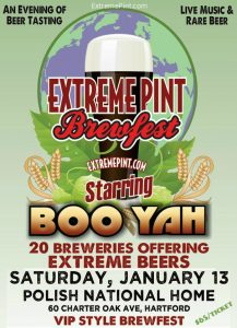 Hartford PNH and HDI present Extreme Pint Craft Brewfest