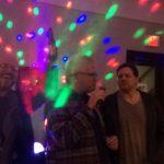Karaoke Night in Hartford friends having a good time