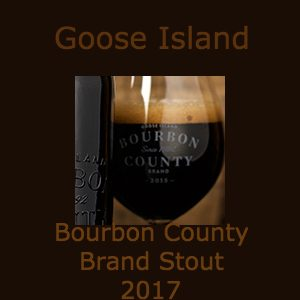 Bourbon County Brand Stout is on Tap