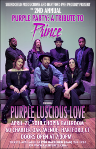 Purple Party A Tribute to Prince featuring Purple Luscious Love
