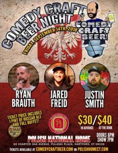 Comedy Craft Beer Night at the Hartford PNH
