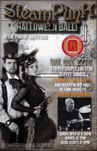 Steam Punk Halloween Ball with Liviu Pop at the Chopin Ballroom